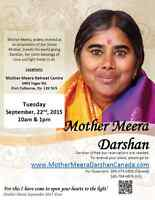 Mother Meera's Sept. Darshan