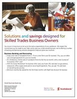 Solutions and savings designed for Skilled Trades