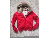 Abercrombie and Fitch Hoodie- ladies - small