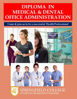 Diploma in Medical & Dental Office Administration–27 weeks