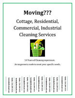 Cottage, Residential, Commercial, Industrial Cleaning Services