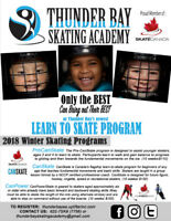THUNDER BAY SKATING ACADEMY - 2018 LEARN-TO-SKATE PROGRAMS