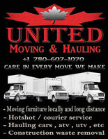 Moving trucks headed to Vancouver!