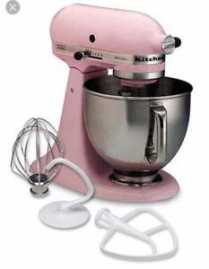 KitchenAid Artisan Stand Mixer: Pink. Brand New in Box