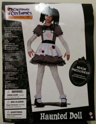 Haunted Doll Girls Halloween Costume