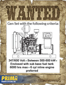 WANTED* Looking for a specific generator