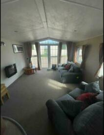 LUXURY CARAVAN WITH FRONT OPENING DOORS FOR SALE IN TOWYN NORTH WALES NOT TYMAWR