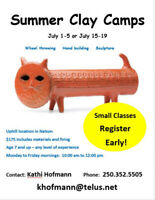 Summer Clay Camps!