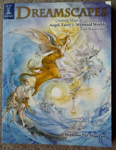 Dreamscapes: Magical Angel, Faery & Mermaid Worlds In Watercolor Kitchener / Waterloo Kitchener Area image 1
