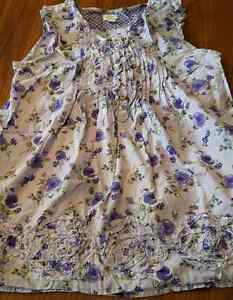 Children's Place size; L-10-12 youth ruffled shoulders top