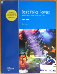 Basic Police Powers - Arrest and search procedures (4th edition)