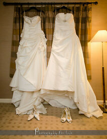 **2 x Benjamin Roberts wedding dresses for sale, one is UK 10-12, and the other is UK12-14**