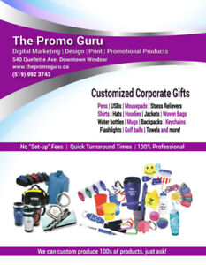 Promotional products printing