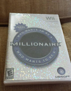 Who Wants to be a Millionaire for Nintendo Wii Brand New... Fact Kingston Kingston Area image 1