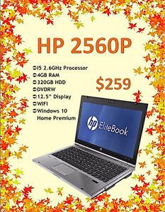 FALL LAPTOP SALE - HP 2560P Elitebook Only $259!