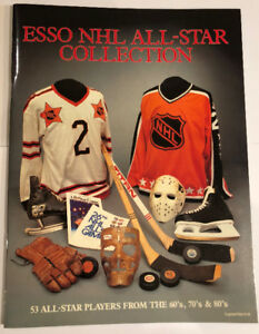 Vintage hockey cards Esso NHL All Star collection