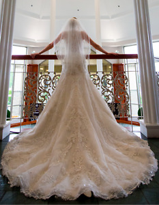 Robe mariage Sottero & Midgley taille 6 avec voile