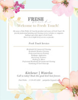**FRESH TOUCH PROFESSIONAL PAINTING & CLEANING**