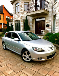 2006 Mazda 3 Sport 2.3L GT - LOW KMS & A/C & Winter Tires