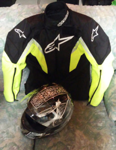 Manteau Alpinestars / casque