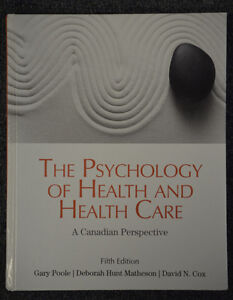 Textbook: The Psychology of Health an Health Care