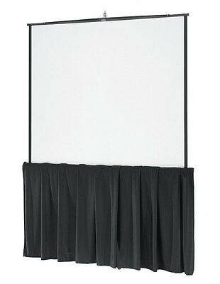 128 Tripod Screen Skirt 10ft - Used With Da Lite Elite Draper
