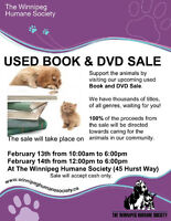 USED BOOK & DVD SALE: