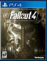 PS4 FALLOUT 4 - MINT CONDITION - ADULT OWNED