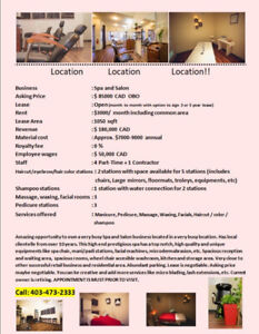 Business For Sale - Excellent Opportunity!! Amazing Location!!