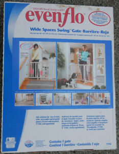 EvenFlo Safety Gate and Add-on Panel