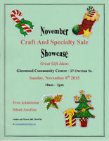 Craft & Specialty Sale
