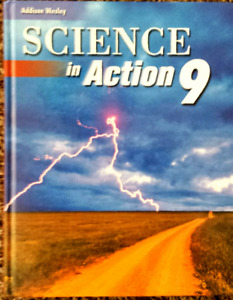 Brand new, never used textbook~Science 9