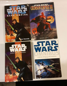 Star Wars Books and comic collections