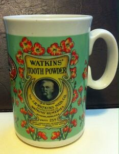 MUG - WATKIN'S TOOTH POWDER 1992 COLLECTION 8 of 8 in collection
