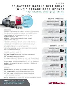 LiftMaster 8550W Elite Series Garage Door Opener