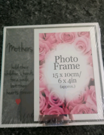 New glasse mother photo frame