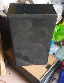 Pair of awia 60 watt speakers