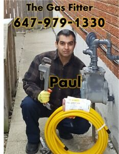 Gas Fitter:Licensed. Appliances, Gas Line, AC Installation