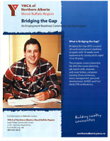 GET PAID to find a job -- YMCA Bridging The Gap
