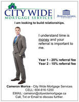 Mortgage Broker looking for Realtor for referral Relationship