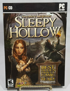 MYSTERY LEGENDS SLEEP HOLLOW PC SOFTWARE GAME NEW