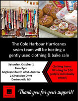 Clothing and Bake Sale