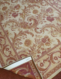 Laura ashley baroque rug 230 x140