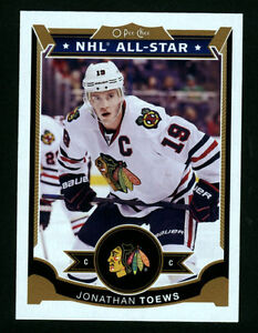 2015-16 O-Pee-Chee Jonathan Toews Chicago Blackhawks