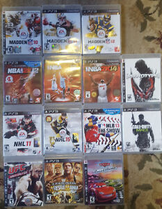 14 Different PS3 Games - Great Condition