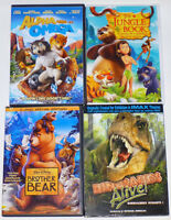 LOT 4 DVD pour enfants 3 à 8 ans (4 DVD for kids)