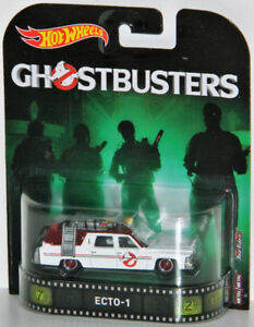 Hot Wheels Retro 1/64 New Ghostbusters Ecto-1 Diecast Car