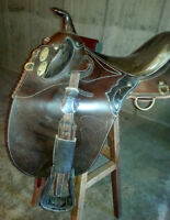 Australian Leather Saddle