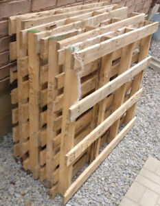 Wood Pallet - Shipping Building Materials - 9 PALLETS - FREE