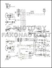 1973 Chevy El Camino GMC Sprint Wiring Diagram Foldout OEM